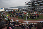 The Cheltenham Festival Ladies Day. Cheltenham Spa. 11 March 2015