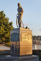 "Fisherman's Memorial titled ""Safe Return"", Bellingham Washington"