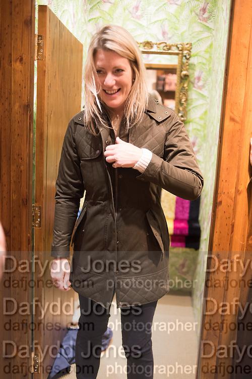 KATE DaSilva, Tatler and Dubarry host an evening with Clare Balding, Dubarry of Ireland, 34 Duke of York's Sq. London. 13 October 2016.