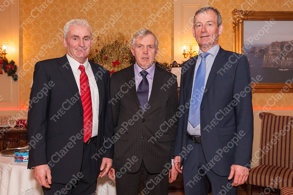 Michael Sexton (Chairman of Event) Pat Connellan (Commitee) and Michael Shannon (PRO)