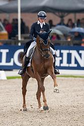 De Winne Flore, BEL, Mac Donovan<br /> World Championship Young Dressage Horses - Ermelo 2019<br /> © Hippo Foto - Dirk Caremans<br /> De Winne Flore, BEL, Mac Donovan