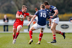 Bristol Rugby Inside Centre Nick Carpenter in action - Mandatory byline: Rogan Thomson/JMP - 02/04/2016 - RUGBY UNION - Richmond Athletic Ground - London, England - London Scottish v Bristol Rugby - Greene King IPA Championship.