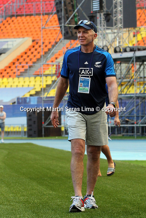 Gordon Tietjens - New Zealand - Rugby World Cup Sevens - Moscow 2013 - Photo Martin Seras Lima