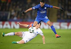 Riyad Mahrez of Leicester City - Mandatory by-line: Alex James/JMP - 18/10/2016 - FOOTBALL - King Power Stadium - Leicester, England - Leicester City v FC Copenhagen - UEFA Champions League