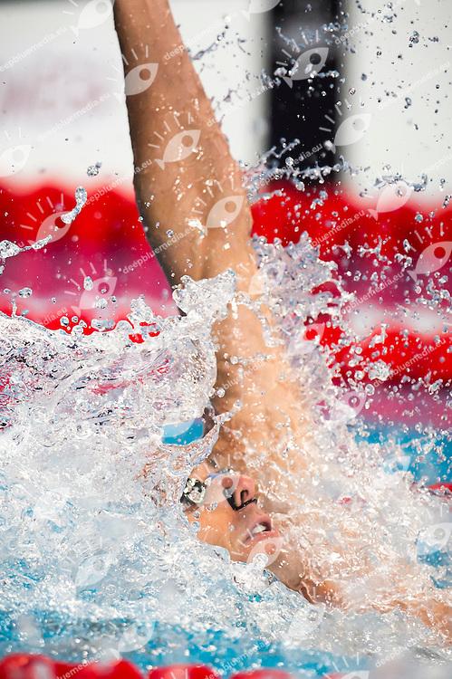 LACOURT Camille FRA silver medal<br /> Swimming - Men's 100m backstroke final<br /> Day 12 04/08/2015<br /> XVI FINA World Championships Aquatics Swimming<br /> Kazan Tatarstan RUS July 24 - Aug. 9 2015 <br /> Photo Giorgio Perottino/Deepbluemedia/Insidefoto