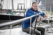20-05-2018: Zeilen: The North Sea Regatta: Scheveningen<br /> <br /> (L-R) Zeilster Lobke Berkhout na afloop van de North Sea Regatta in de haven van Scheveningen<br /> <br /> Foto: Gertjan Kooij
