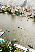 View of Chao Phraya River from Peninsula Bangkok