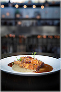 Jim Rice © 2013<br /> Masterchef Restaurant Maggie Beer pork loin dish