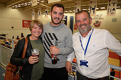 Hospitality group photo at the Bristol Flyers - Photo mandatory by-line: Dougie Allward/JMP - 24/09/2016 - BASKETBALL - SGS Wise Arena - Bristol, England - Bristol Flyers v Plymouth Raiders - British Basketball League Championship