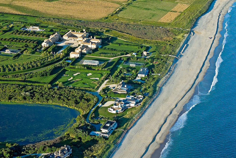 Ira Rennert Property, Mansion, Sagaponack,  Long Island, New York