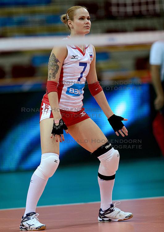 24-09-2014 ITA: World Championship Volleyball Rusland - Mexico, Verona<br /> Rusland wint met 3-0 / Svetlana Kryuchkova