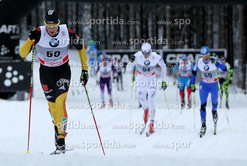31.12.2011, DKB-Ski-ARENA, Oberhof, GER, Viessmann Tour de Ski 2011, FIS Langlauf Weltcup, Verfolgung Herren, im Bild  Andreas Katz (GER) // during men's pursuitof Viessmann Tour de Ski 2011 FIS World Cup Cross Country at DKB-SKI-Arena Oberhof, Germany on 2011/12/31. EXPA Pictures © 2011, PhotoCredit: EXPA/ nph/ Hessland..***** ATTENTION - OUT OF GER, CRO *****