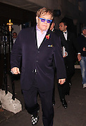05.NOVEMBER.2012. LONDON<br /> <br /> ELTON JOHN AND DAVID FURNISH LEAVING THE MUSIC INDUSTRY TRUSTS AWARD CEREMONY AT THE GROSVENOR HOUSE HOTEL IN MAYFAIR.<br /> <br /> BYLINE: EDBIMAGEARCHIVE.CO.UK<br /> <br /> *THIS IMAGE IS STRICTLY FOR UK NEWSPAPERS AND MAGAZINES ONLY*<br /> *FOR WORLD WIDE SALES AND WEB USE PLEASE CONTACT EDBIMAGEARCHIVE - 0208 954 5968*