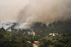 June 18, 2017 - Leiria, 06/18/2017 - Fire that brought terror to Pedrogão Grande this evening, number of mortal victims is already in 58. Fire in the Mega Fundeira  (Credit Image: © Atlantico Press via ZUMA Wire)