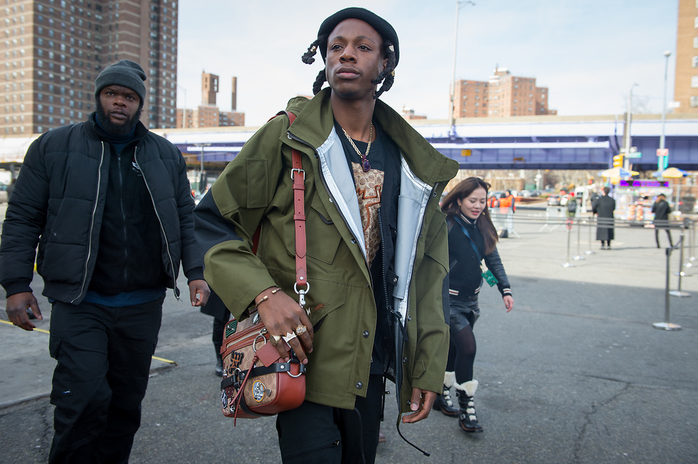 Joey Bada$$ at Coach FW2018