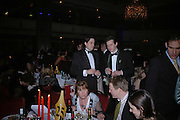 SAM LEITH AND Alexander Masters. 17th Annual Book Awards, hosted by richard and Judy. grosvenor House. London. 29 March 2006. ONE TIME USE ONLY - DO NOT ARCHIVE  © Copyright Photograph by Dafydd Jones 66 Stockwell Park Rd. London SW9 0DA Tel 020 7733 0108 www.dafjones.com