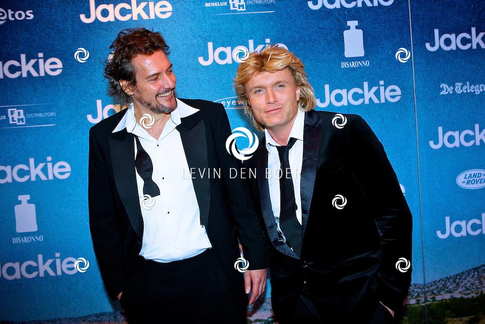 AMSTERDAM - In DeLaMar theater is de filmpremiere van Jackie.  Met op de foto Hans Klok. FOTO LEVIN DEN BOER - PERSFOTO.NU