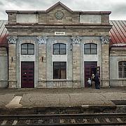 The Narva railway station