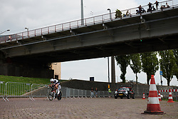 Pernille Mathiesen (DEN) at Boels Ladies Tour 2018 - Prologue, a 3.3 km time trial in Arnhem, Netherlands on August 28, 2018. Photo by Sean Robinson/velofocus.com