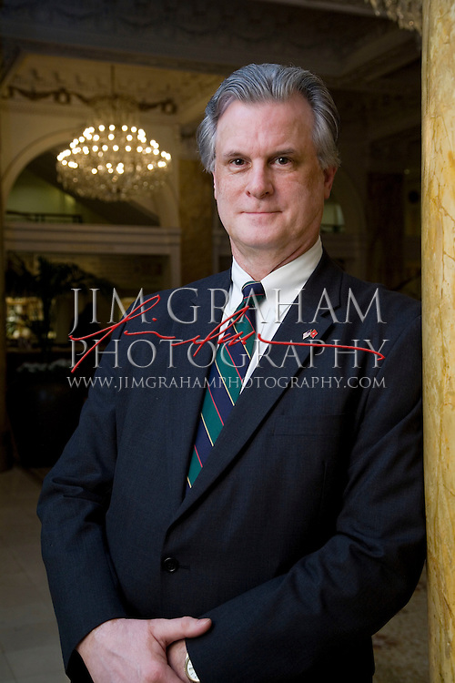 James V. Kelly, CFA, President of Kelly Capital Management, LLC, in Philadelphia, PA., Wednesday March 14, 2007.  (Photograph by Jim Graham)