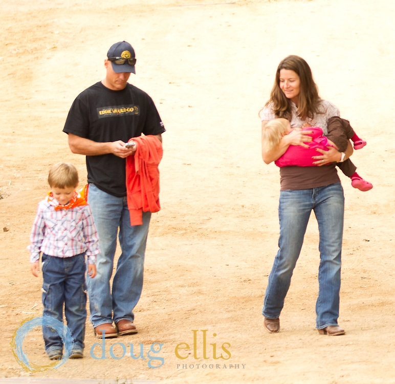 Casual and fun professional outdoor family photos and family portraits in Montecito, Ojai, and Santa Barbara.