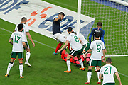 Olivier GIROUD (FRA) scored the goal against Declan Rice (IRL), Callum O Dowda (IRL), Colin Doyle (IRL), Kylian MBAPPE (FRA), Shane Long (IRL), Kevin Long (IRL), Enda Stevens (IRL), Derrick Williams (IRL) during the FIFA Friendly Game football match between France and Republic of Ireland on May 28, 2018 at Stade de France in Saint-Denis near Paris, France - Photo Stephane Allaman / ProSportsImages / DPPI