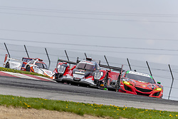 May 6, 2018 - Lexington, Ohio, United States of America - The Performance Tech Motorsports ORECA LMP2 car races through the keyhole turn during the the Acura Sports Car Challenge at Mid Ohio Sports Car Course in Lexington, Ohio. (Credit Image: © Walter G Arce Sr Asp Inc/ASP via ZUMA Wire)