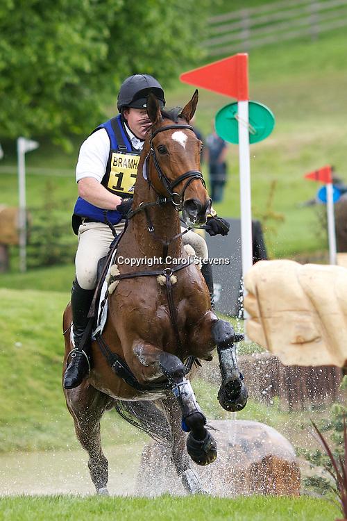 Equi-Trek Bramham International Horse Trials 2012  CIC3*<br /> Craig Anderson and High Learchild