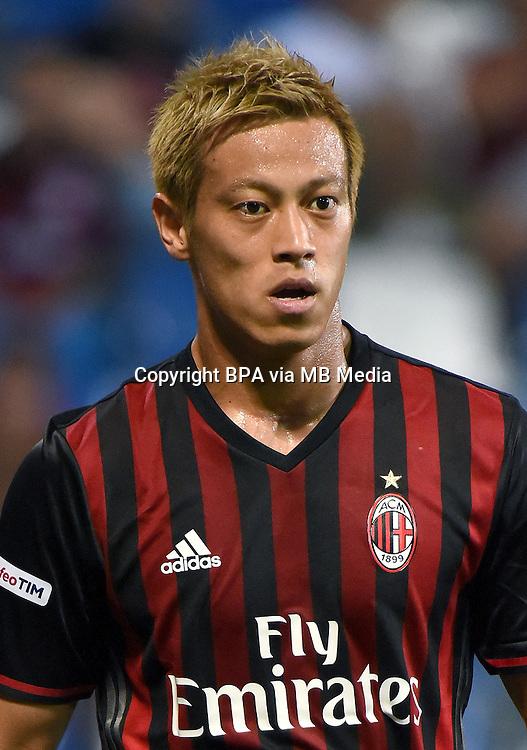 Italian League Serie A -2016-2017 / <br /> ( AC Milan  ) - <br /> Keisuke Honda