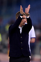 Viktar Hancharenka, CSKA coach.<br /> Roma 23-10-2018 Stadio Olimpico<br /> Football Calcio UEFA Champions League 2018/2019, Group G. <br /> AS Roma - CSKA Moscow<br /> Foto Antonietta Baldassarre / Insidefoto