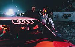 01.02.2020, Flugplatz, Zell am See, AUT, GP Ice Race, im Bild Marcel Hirscher im Audi S1 EKS WRX quattro // Marcel Hirscher drives a Audi S1 EKS WRX quattro  during the GP Ice Race at the Airfield, Zell am See, Austria on 2020/02/01. EXPA Pictures © 2020, PhotoCredit: EXPA/ JFK