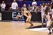 DESCRIZIONE : Milano Lega A 2014-15 <br /> EA7 Olimpia Milano - Acea Virtus Roma <br /> GIOCATORE : Rok Stipcevic<br /> CATEGORIA : palleggio contropiede controcampo <br /> SQUADRA : Acea Virtus Roma <br /> EVENTO : Campionato Lega A 2014-2015 <br /> GARA : EA7 Olimpia Milano - Acea Virtus Roma<br /> DATA : 12/04/2015<br /> SPORT : Pallacanestro <br /> AUTORE : Agenzia Ciamillo-Castoria/GiulioCiamillo<br /> Galleria : Lega Basket A 2014-2015  <br /> Fotonotizia : Milano Lega A 2014-15 EA7 Olimpia Milano - Acea Virtus Roma