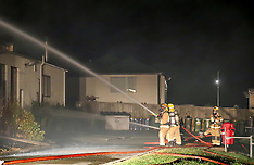 Auckland-Fire destroys Long Bay College's Technology block
