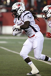 11 December 2015:  Jacobi Green. NCAA FCS Quarter Final Football Playoff game between Richmond Spiders and Illinois State Redbirds at Hancock Stadium in Normal IL (Photo by Alan Look)