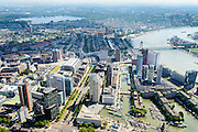 Nederland, Zuid-Holland, Rotterdam, 10-06-2015;<br /> <br /> QQQ<br /> luchtfoto (toeslag op standard tarieven);<br /> aerial photo (additional fee required);<br /> copyright foto/photo Siebe Swart