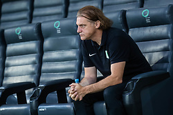 Safet Hadzic head coach of NK Olimpija during football match between NK Olimpija and NK Domzale in 2nd Round of Prva liga Telekom Slovenije 2019/20, on July 21st, 2019, in Stadium Stozice, Ljubljana, Slovenia. Photo by Grega Valancic / Sportida