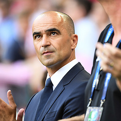 Roberto Martinez coach of Belgium during the FIFA World Cup Group G match between Belgium and Tunisia at Spartak Stadium on June 23, 2018 in Moscow, Russia. (Photo by Anthony Dibon/Icon Sport)