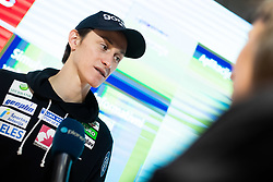 Peter Prevc during press conference of Slovenian Ski Cross Country team after Tour de Ski and Ski Jumping team after 4 Hills Tournament, on January 7, 2020 in Triglav Lab, Ljubljana, Slovenia. Photo By Grega Valancic / Sportida