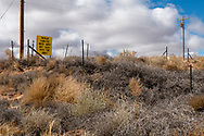 Navajo Nation Reservation, Arizona, election sign