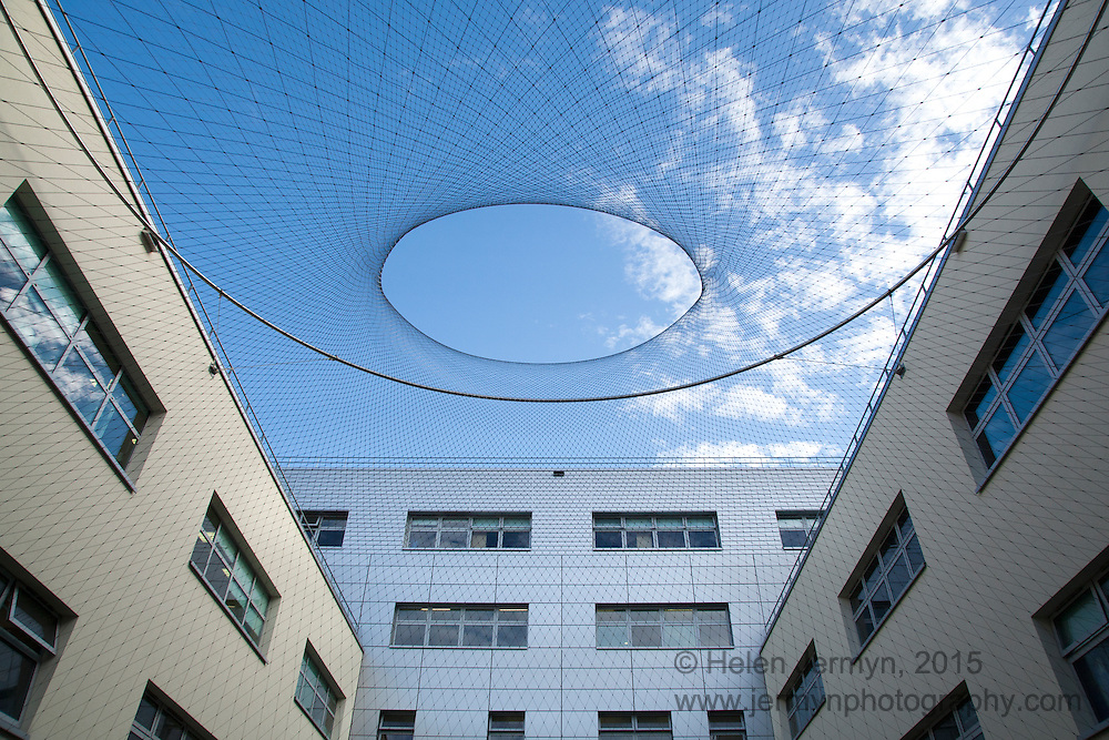 Courtyard artwork, Broomfield Hospital, Chelmsford