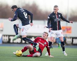 Falkirk 1 v 1 Ayr United, Scottish Championship game played 14/1/2017at The Falkirk Stadium.