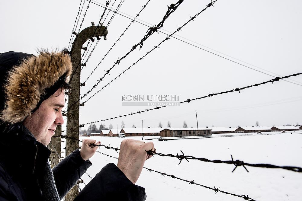 AUSCHWITZ - Preparations in Camp Birkenau for the 70 jaarige Auschwitz Memorial. COPYRIGHT ROBIN UTRECHT