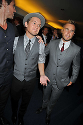 Mark Owen; Gary Barlow at the annual GQ Awards held at the Royal Opera House, Covent Garden, London on 8th September 2009.