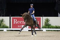 Minderhoud Hans Peter, (NED), Glock's Flirt <br /> Training session<br /> Reem Acra FEI World Cup™ Dressage Finals <br /> Las Vegas 2015<br />  © Hippo Foto - Dirk Caremans<br /> 15/04/15