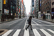 Tokyo, Ginza - The street of Ginza