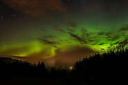 The Aurora Borealis: Inverness, Scotland - 07/10/2015
