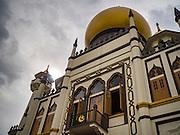 28 DECEMBER 016 - SINGAPORE:   Sultan Mosque (Masjid) in Singapore.   PHOTO BY JACK KURTZ