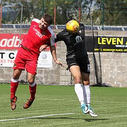 East Fife v Dumbarton, Scottish League One, 4 August 2018