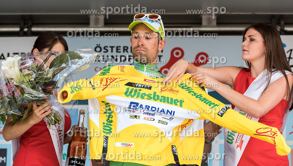 03.07.2016, XXX, AUT, Ö-Tour, Österreich Radrundfahrt, 1. Etappe, Innsbruck nach Salzburg, im Bild Nicola Ruffoni (ITA, Bardiani CSF) // Nicola Ruffoni (ITA, Bardiani CSF) during the Tour of Austria, 1st Stage from Innsbruck to Salzburg at XXX, Austria on 2016/07/03. EXPA Pictures © 2016, PhotoCredit: EXPA/ JFK