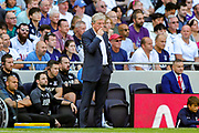 Crystal Palace Manager Roy Hodgson during the Premier League match between Tottenham Hotspur and Crystal Palace at Tottenham Hotspur Stadium, London, United Kingdom on 14 September 2019.